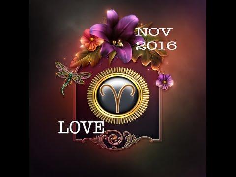 ARIES GENERAL LOVE FORECAST NOVEMBER,  2016