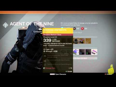 Destiny: Xur Agent of the Nine Location (Weekend of 10/24) - HTG