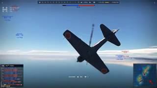 =戰爭雷霆 War Thunder=  蛋戰BZ 差點死在亂戰 零戰三二型