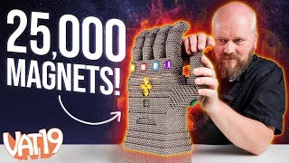 We built the Infinity Gauntlet with 25,000 magnets!