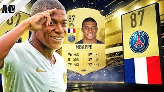 FIFA 19 MBAPPE REVIEW | 87 MBAPPE PLAYER REVIEW | FIFA 19 ULTIMATE TEAM