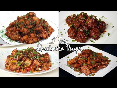 4 Easy Indo-Chinese Veg Manchurian Recipes |  Home Cooking