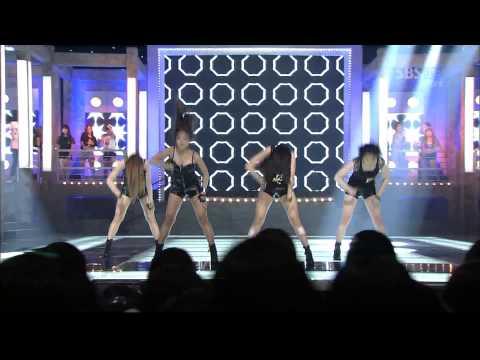 Hyuna & Sistar   Dance Special Stage Inkigayo 2011 08 21 video