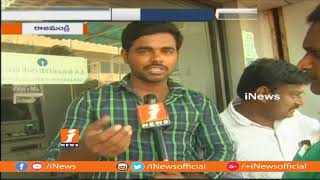 People Face Problems With No Cash boards At ATMs In Rajahmundry   iNews