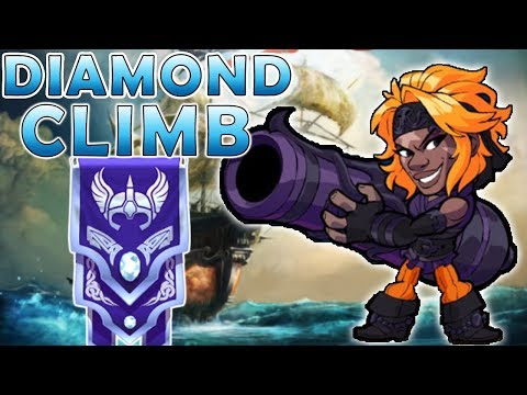 Sidra To Diamond - (Mostly Cannon) and Sword Brawlhalla Gameplay