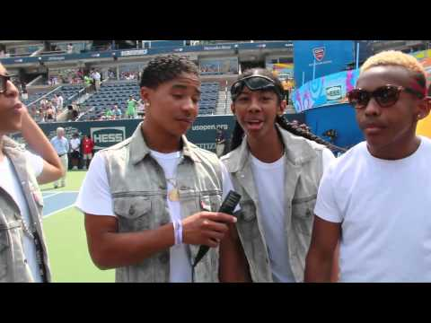 Mindless Behavior Talks Flirting, Touring & Tennis!