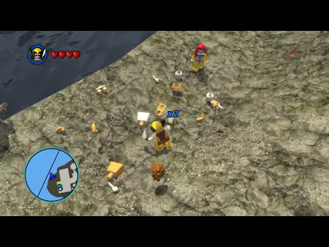 LEGO Marvel Super Heroes The Video Game - Wolverine free roam