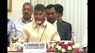 CM Chandrababu Naidu Fires On Central Government