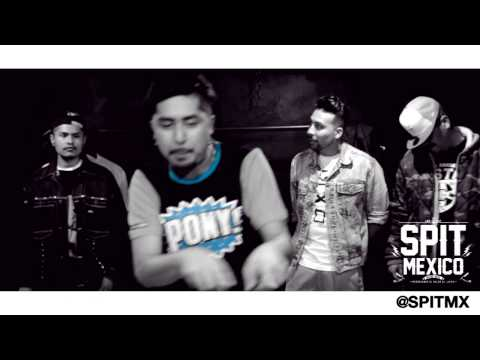 SPIT MX: El Cypher | Hadesth, Kooper, Kobe, Alther. Eptos Uno, Yoga Fire & Muelas de Gallo