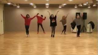 Spica - Russian Roulette mirrored Dance Practice
