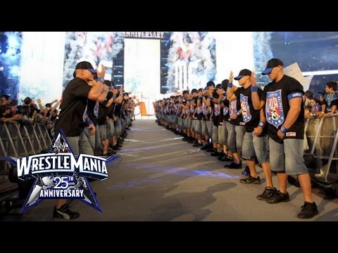 John Cena's 25th Anniversary Of Wrestlemania Entrance video