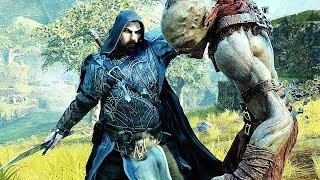 Middle Earth Shadow of Mordor Brutal Captain Kills & Free Roam