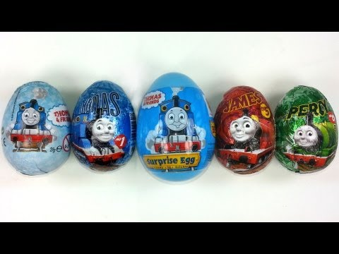 5 Thomas and Friends Surprise Eggs Unboxing