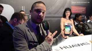 Huawei Ascend D quad (XL) - First Look - MWC 2012 - androidnext.de