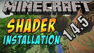 [1.4.5] Shader: Installation für Cracked - Minecraft Mods & Reviews [German|HD]