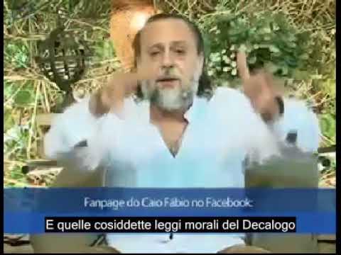 Caio Fábio fala sobre a Lei e a Graça. - Legendas em Italiano.