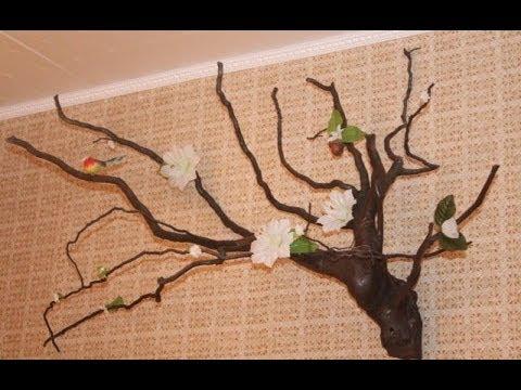 Своими руками дерево из веток