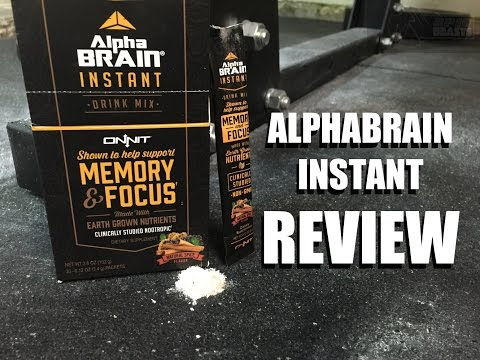 Alpha Brain Instant Review Onnit Labs Newnootropics Net