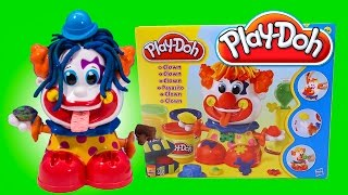 Play Doh Clown toy Playset Playdough Payaso Play-Doh Plasticine