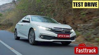 Honda Civic 2019   Test Drive Review Malayalam   Manorama Online