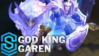 God King Garen Skin Spotlight - Pre-Release - League of Legends