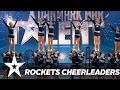 Lagu Rockets Cheerleaders  Danmark Har Talent 2017  Audition 6