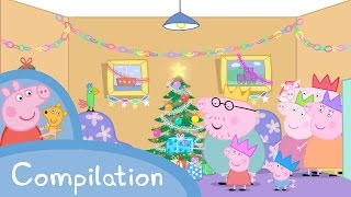 Peppa Pig English Episodes - Christmas Compilation (new) Peppa Pig Official