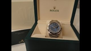Rolex DateJust II 116334 Unboxing