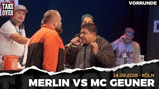 Merlin vs. MC Geuner Takeover Freestyle Contest | Köln 14.09.18 (VR 2/4)