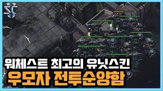 2018 워체스트 최고의 유닛스킨 '우모자 전투순양함' 을 활용한 토스전 운영! - 슈퍼노바 스타크래프트2 래더 하이라이트