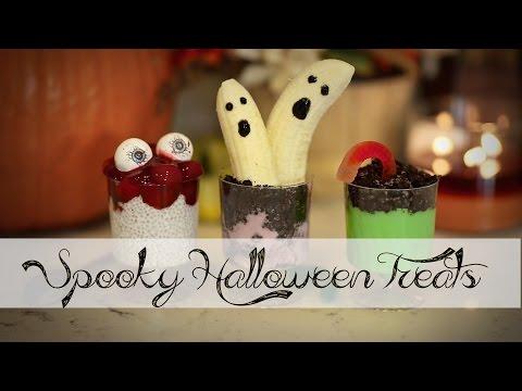 DIY Halloween YUMMY Spooky Treats | ANNEORSHINE