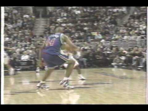 NY Knicks vs Philadelphia 76ers  December 20, 1996 Reg season Part 1 of 13