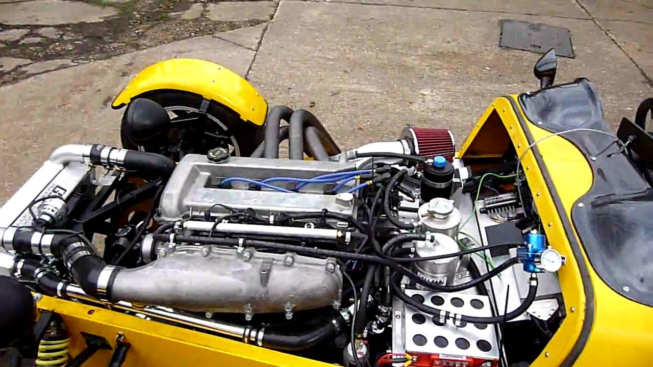 Supercharged Duratec 4
