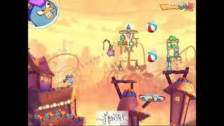 Angry Birds Level 570 3 Star Walkthrough Gameplay