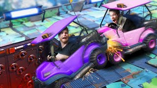 Deadly Bumper Cars Challenge! | Fortnite