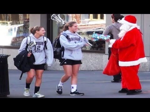 Bad Santa Christmas Prank