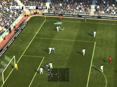 PES 12-Napoli 6-2 R.Madrid+comm. in romana excelent+link download