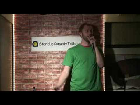 Rory Scovel -Traffic lights & harassing the show organizer