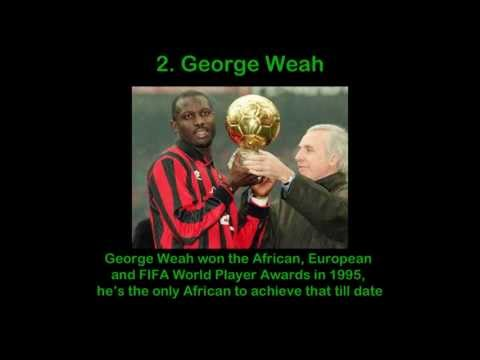 10 Best African Soccer Players Ever