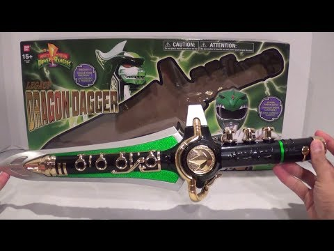 Legacy Dragon Dagger Unboxing/Review [Mighty Morphin Power Rangers]