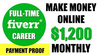 How to Make Money on Fiverr with No Skills 2019