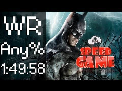 Speed Game - Batman Arkham Asylum - Speedrun Any% Hard