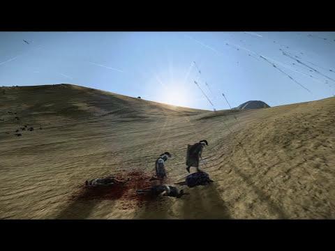 6000 Archers vs 300 Praetorian Guards Rome 2 Total War
