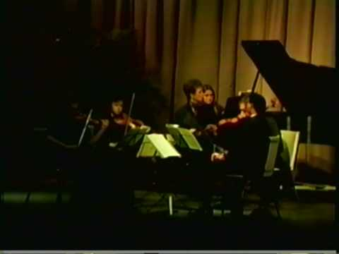 Judith Burganger Plays Brahms Piano Quintet Op 34 Mov 1 Allegro non troppo - Part II Video