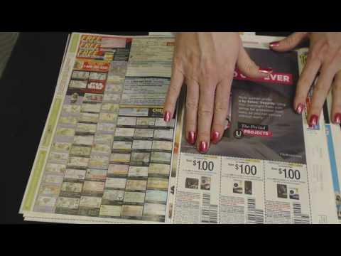 ASMR Soft Spoken ~ Junk Mail/Coupon Review ~ Southern Accent