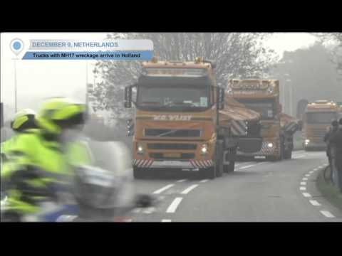 MH17 Wreckage Arrives In Netherlands: Kremlin accused of role in Malaysia Airlines crash