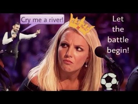 Britney Spears and Justin Timberlake - Let the battle begin (funny)