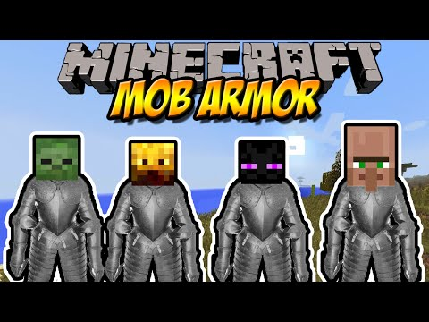 NEUE RÜSTUNGEN   Mob Armor Mod   Minecraft Mod Review [DEUTSCH]