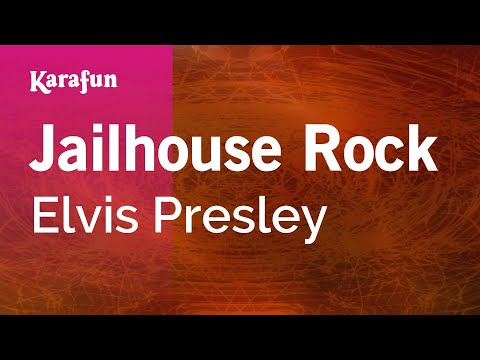Karaoke Jailhouse Rock - Elvis Presley * video