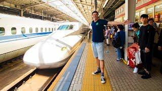 SHINKANSEN to OSAKA - REAL First Impressions of Japan
